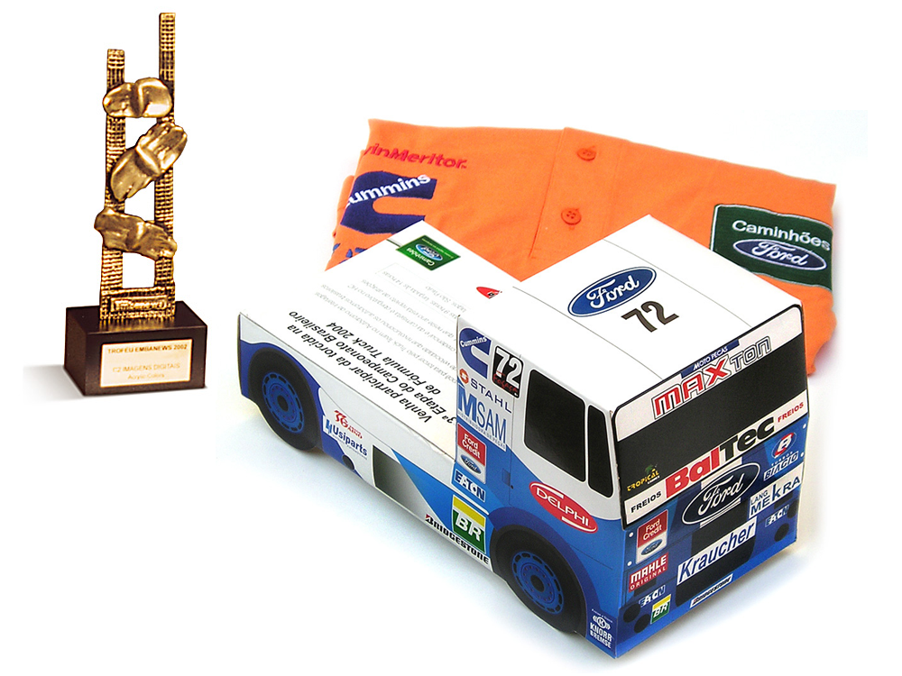 Convite para Fórmula Truck Ford