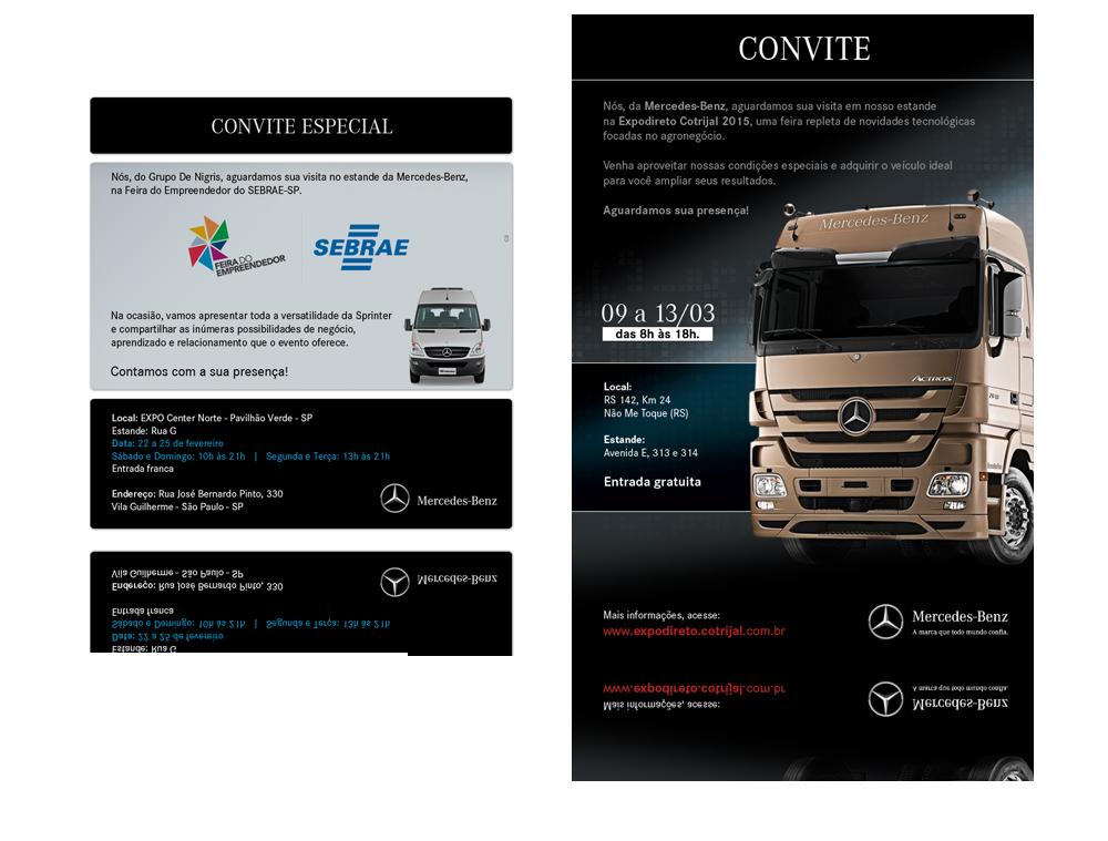 Convites Eletrônicos Mercedes-Benz