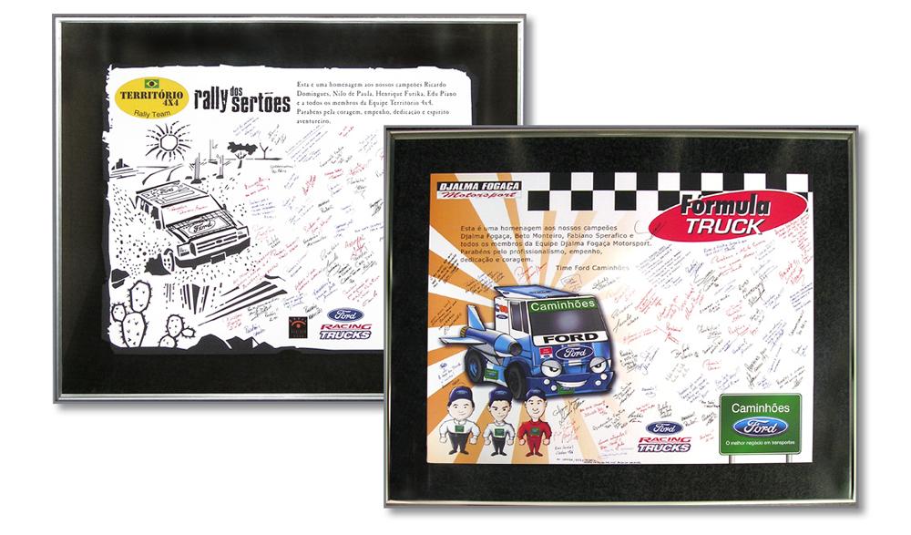 Placas de Homenagem Ford