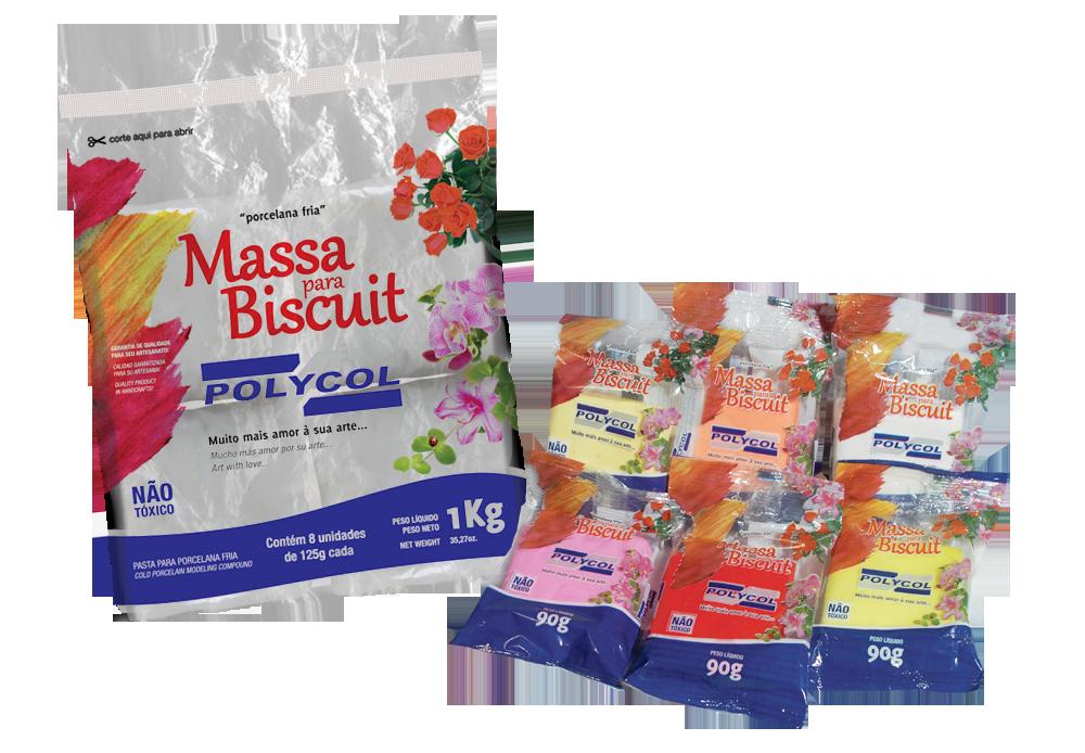 Embalagens de Massa para Biscuit Polycol